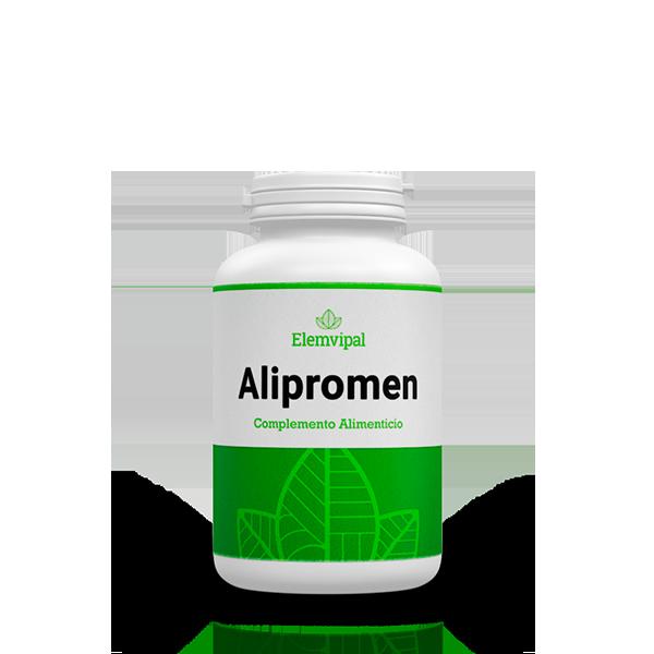 Alipromen cápsulas. Complemento alimenticio proteina de guisante.