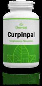 ELEMVIPAL Curpinpal. Complemento alimenticio curcuma y pimienta fitoterapia